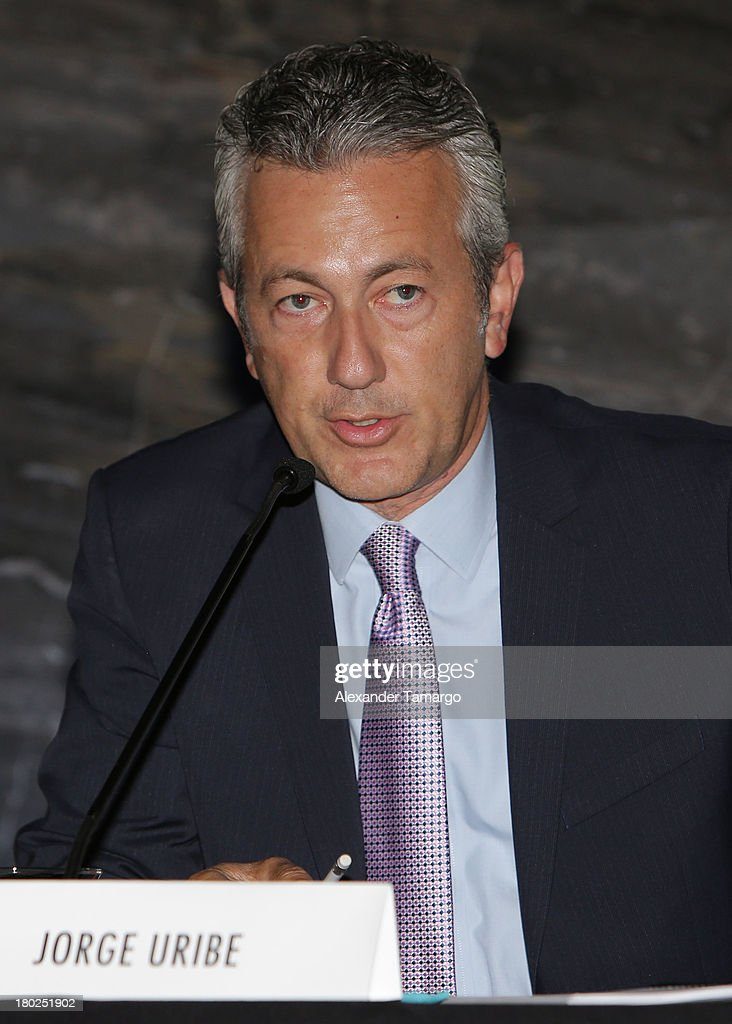 Jorge Uribe attends the Haute Magazine Real Estate Summit at the W Hotel South Beach on September 10, 2013 in Miami, Florida.
