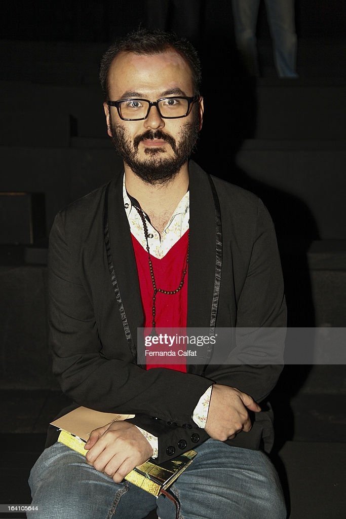 Jorge Watanabe attends the Ellus show during Sao Paulo Fashion Week Summer 2013/2014 on March 19, 2013 in Sao Paulo, Brazil.