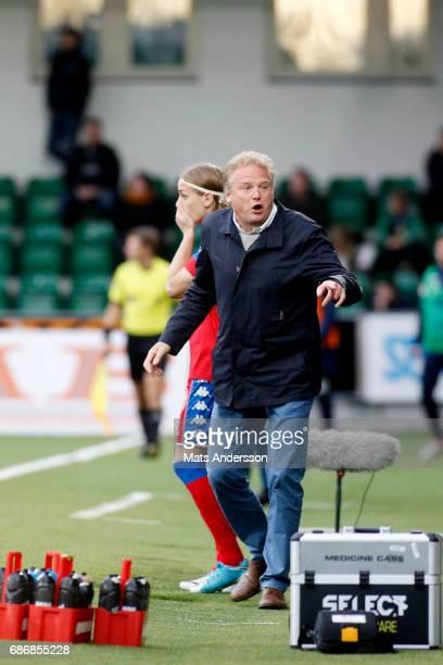 Jorgen Lennartsson head coach of IFK Goteborg during the Allsvenskan match between GIF Sundsvall and IFK Goteborg at Idrottsparken on May 22 2017 in...