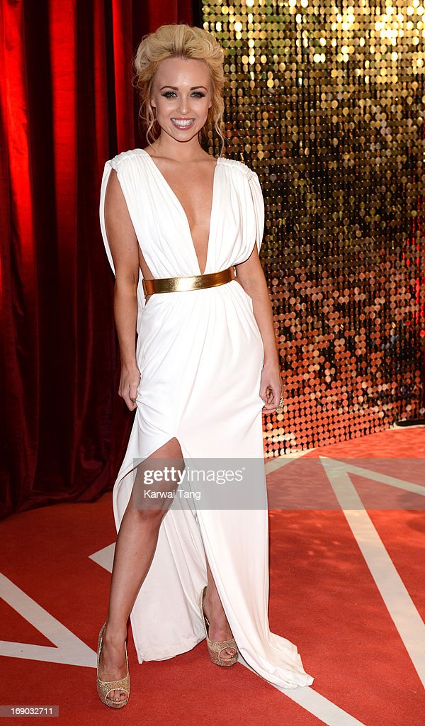 Jorgie Porter attends the British Soap Awards at Media City on May 18, 2013 in Manchester, England.