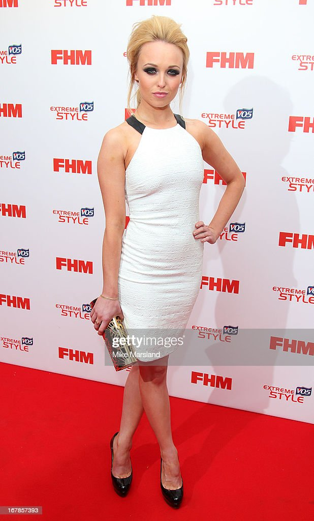 <a gi-track='captionPersonalityLinkClicked' href=/galleries/search?phrase=Jorgie+Porter&family=editorial&specificpeople=5831072 ng-click='$event.stopPropagation()'>Jorgie Porter</a> attends the FHM 100 Sexiest Women In The World 2013 party at Sanderson Hotel on May 1, 2013 in London, England.