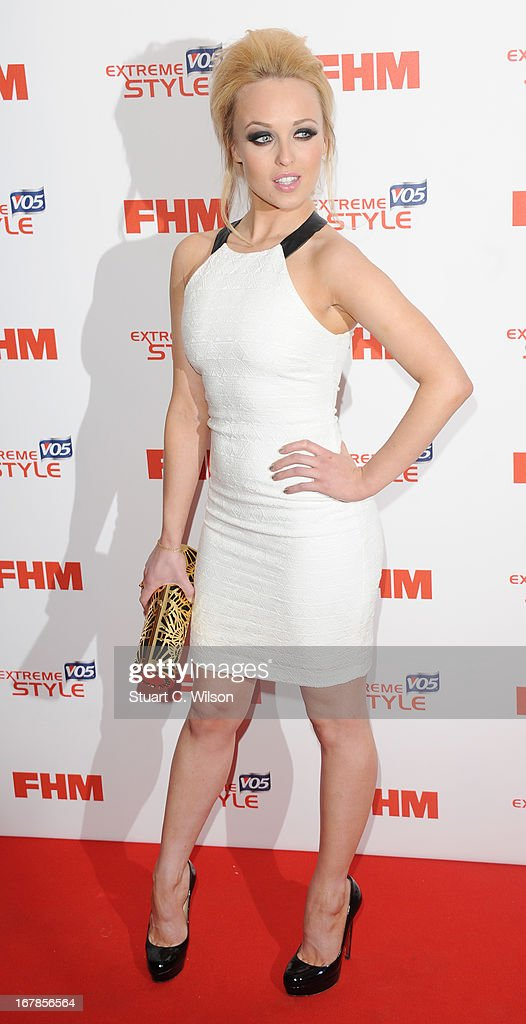 Jorgie Porter attends the FHM 100 Sexiest Women In The World 2013 Launch Party at Sanderson Hotel on May 1, 2013 in London, England.