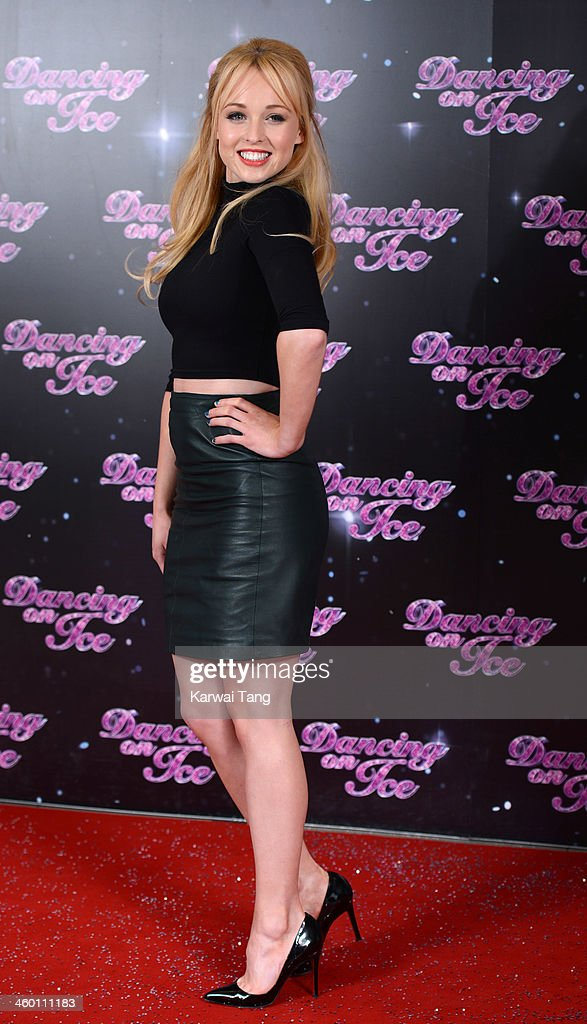 <a gi-track='captionPersonalityLinkClicked' href=/galleries/search?phrase=Jorgie+Porter&family=editorial&specificpeople=5831072 ng-click='$event.stopPropagation()'>Jorgie Porter</a> attends the series launch photocall for 'Dancing on Ice' held at the London Studios on January 2, 2014 in London, England.