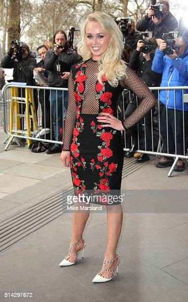 Jorgie Porter attends the TRIC Awards at Grosvenor House Hotel at The Grosvenor House Hotel on March 8 2016 in London England