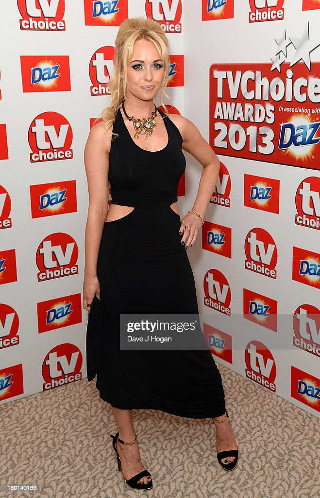 <a gi-track='captionPersonalityLinkClicked' href=/galleries/search?phrase=Jorgie+Porter&family=editorial&specificpeople=5831072 ng-click='$event.stopPropagation()'>Jorgie Porter</a> attends the TV Choice Awards 2013 at The Dorchester on September 9, 2013 in London, England.