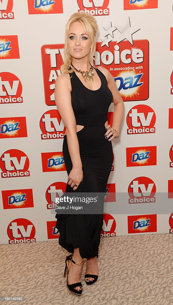 Jorgie Porter attends the TV Choice Awards 2013 at The Dorchester on September 9, 2013 in London, England.