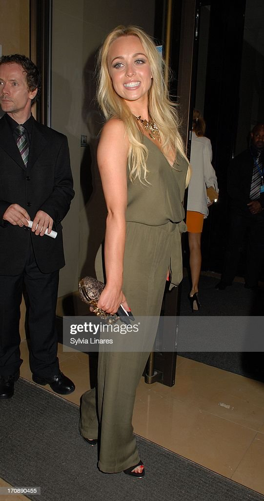 Jorgie Porter sighting at May Fair Hotel on June 19, 2013 in London, England.