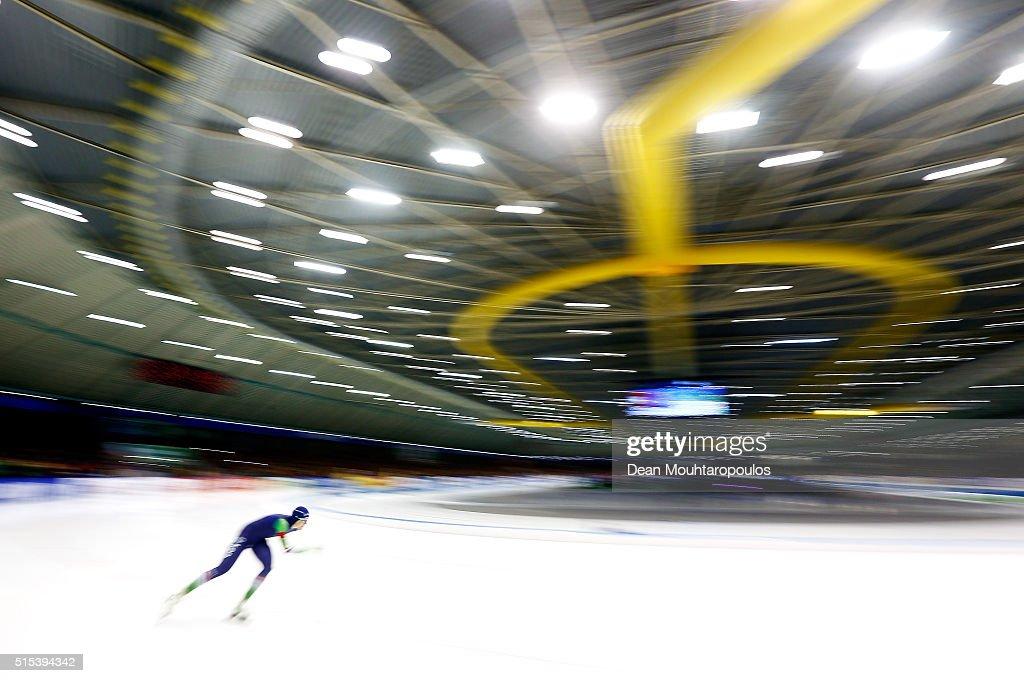 ISU World Cup Speed Skating Final -  Day 3