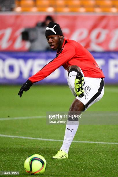 Joris GNAGNON Troyes / Rennes 21eme journee de Ligue 1 Photo Dave Winter / Icon Sport