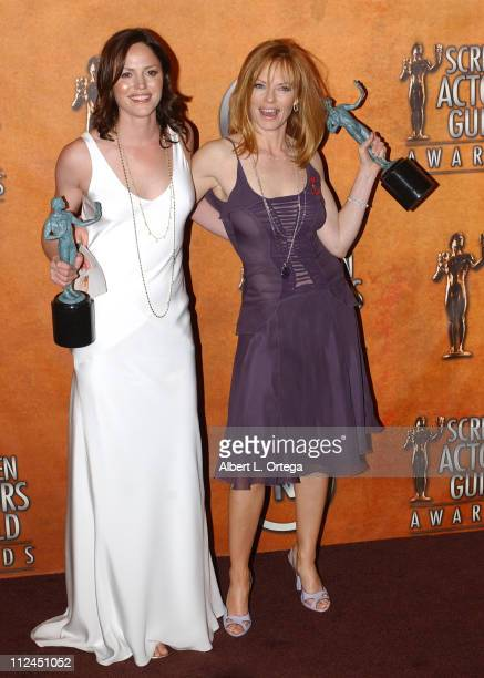 Jorja Fox and Marg Helgenberger winners for Outstanding Ensemble in a Drama Series for 'CSI Crime Scene Investigation'
