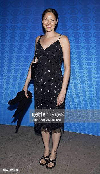 Jorja Fox during CBS Summer 2002 Press Tour Party at Ritz Carlton Hotel in Pasadena California United States