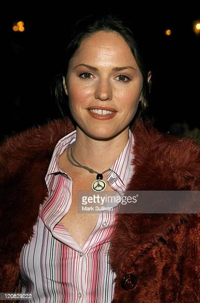 Jorja Fox during Human Rights Watch 25th Anniversary Voices of Justice 2003 Dinner at The Regent Beverly Wilshire Hotel in Beverly Hills California...