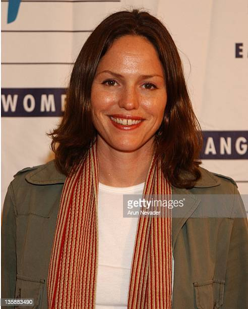 Jorja Fox during LACAAW'S 32nd Annual Humanitarian Awards Benefit Dinner at Fairmont Miramar Hotel in Santa Monica California United States