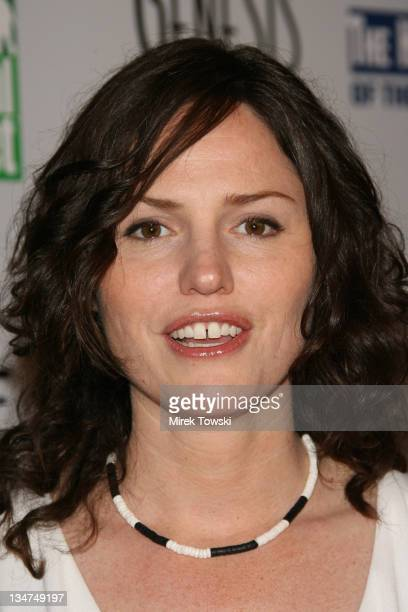 Jorja Fox during The 20th Annual Genesis Awards at Beverly Hilton Hotel in Beverly Hills California United States