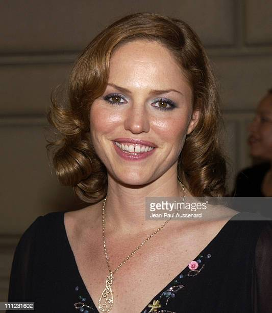 Jorja Fox during The 29th Annual People's Choice Awards Arrivals at Pasadena Civic Auditorium in Pasadena California United States