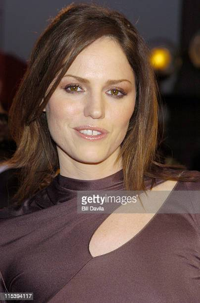 Jorja Fox during The 30th Annual People's Choice Awards Arrivals at Pasadena Civic Auditorium in Pasadena California United States