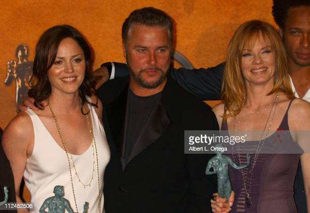 Jorja Fox William Petersen and Marg Helgenberger winners for Outstanding Ensemble in a Drama Series for 'CSI Crime Scene Investigation'