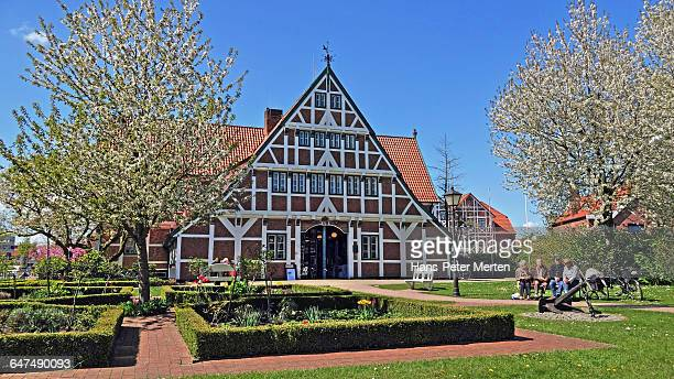 Jork, townhall, Altes Land, Germany