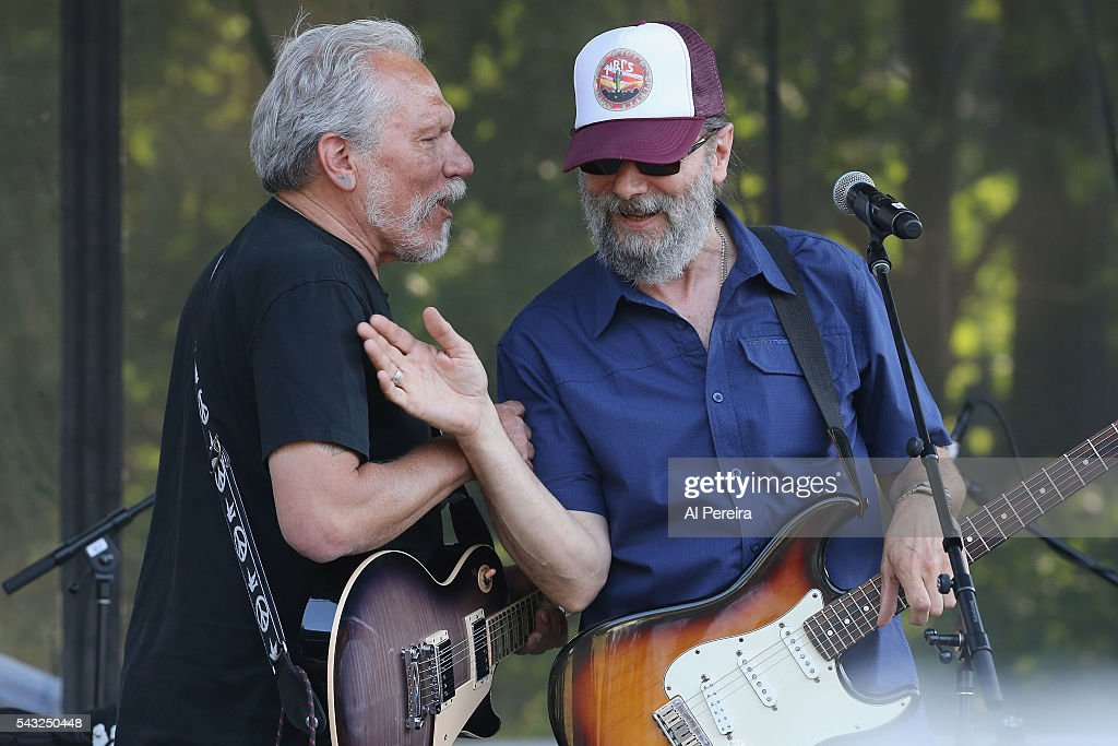 Jorma Kaukonen performs with New Riders of the Purple Sage at Day Two of the Rockland-Bergen Music Festival at German Masonic Park on June 25, 2016 in Tappan, New York.