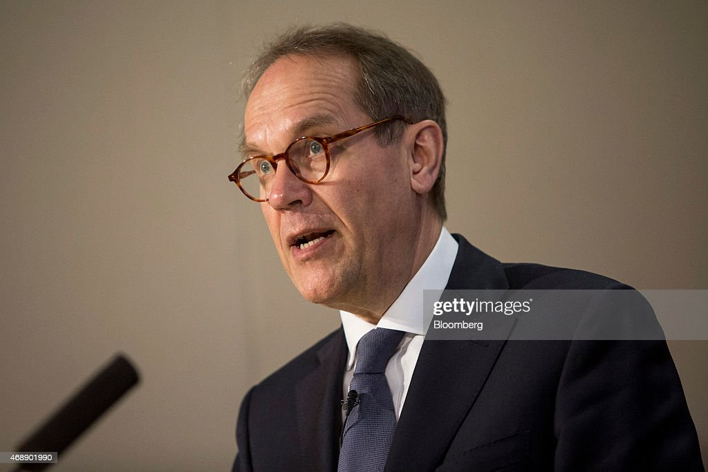 <a gi-track='captionPersonalityLinkClicked' href=/galleries/search?phrase=Jorma+Ollila&family=editorial&specificpeople=619838 ng-click='$event.stopPropagation()'>Jorma Ollila</a>, chairman of Royal Dutch Shell Plc, speaks during a news conference at the London Stock Exchange following his company's takeover of BG Group Plc in London, U.K., on Wednesday, April 8, 2015. Shell agreed to buy BG Group for about 47 billion pounds ($70 billion) in cash and shares, the oil and gas industry's biggest deal in at least a decade. Photographer: David Levenson/Bloomberg via Getty Images