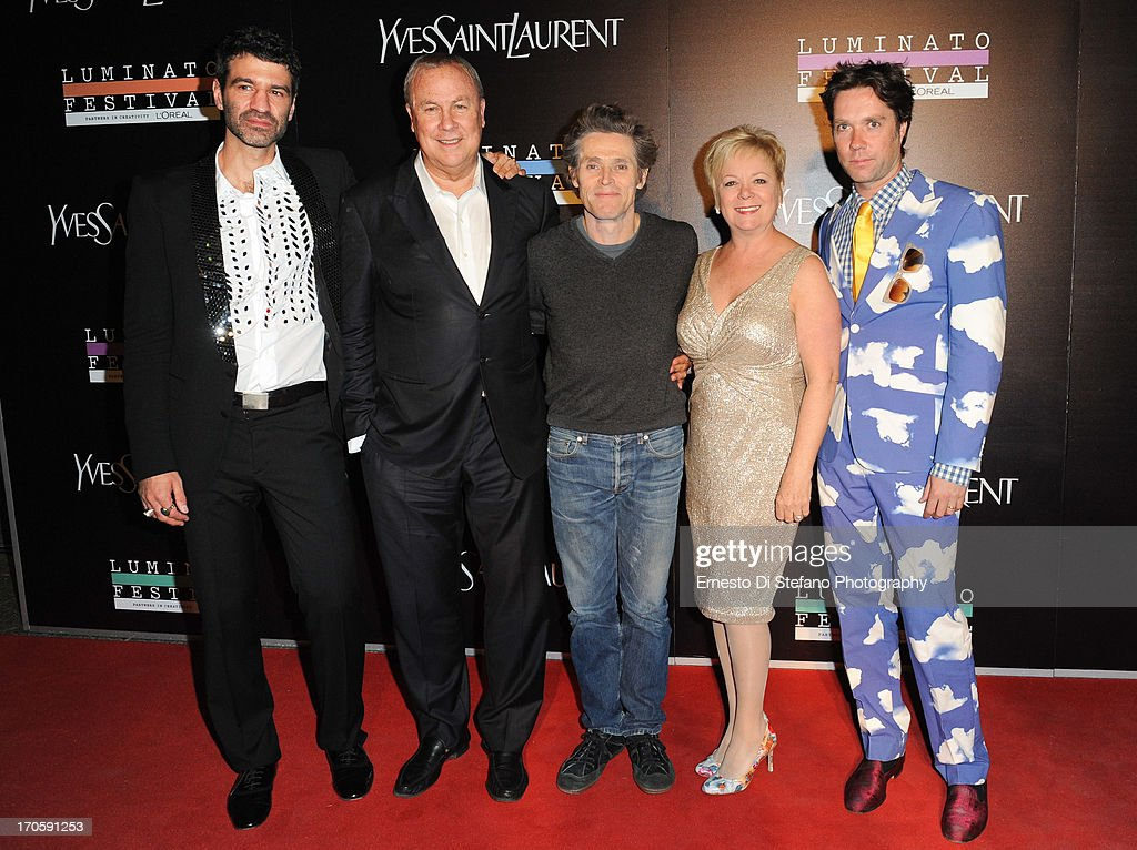 Jorn Weisbrodt, Robert Wilson, <a gi-track='captionPersonalityLinkClicked' href=/galleries/search?phrase=Willem+Dafoe&family=editorial&specificpeople=203171 ng-click='$event.stopPropagation()'>Willem Dafoe</a>, Janice Price, <a gi-track='captionPersonalityLinkClicked' href=/galleries/search?phrase=Rufus+Wainwright&family=editorial&specificpeople=206122 ng-click='$event.stopPropagation()'>Rufus Wainwright</a> attend 'Luminato' Toronto Opening Night at Brookfield Place on June 14, 2013 in Toronto, Canada.