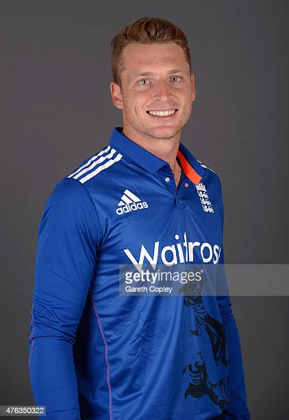 Jos Buttler of England poses for a portrait at Edgbaston on June 8 2015 in Birmingham England