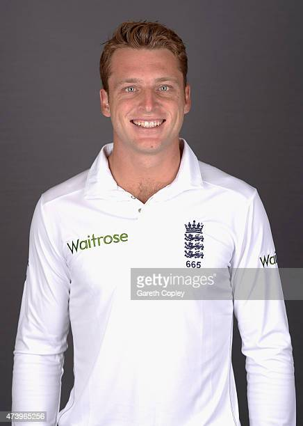 Jos Buttler of England poses for a portrait at Lord's Cricket Ground on May 19 2015 in London England