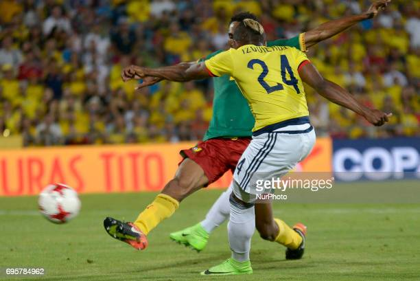 José Iaquierdo of Colombia during match played at the Coliseum Stadium Alfonso Perez Getafe Tuesday June 13 2017