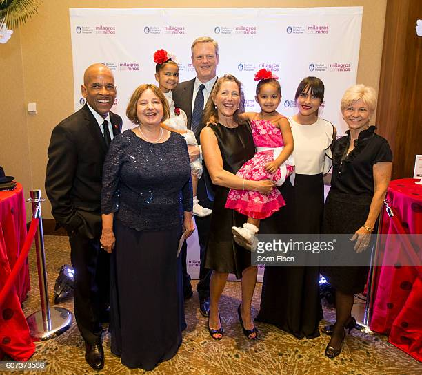 Jos Mass Announcer and Producer at WGBH Radio and Director of Community Affairs at Massport from left Dr Joanne Cox Associate Chief Division of...