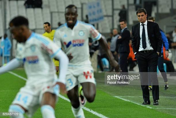 José miguel Gonzalez Martin del Campo Marseille coach during the French League 1 match between Olympique de Marseille and FC Girondins de Bordeaux at...