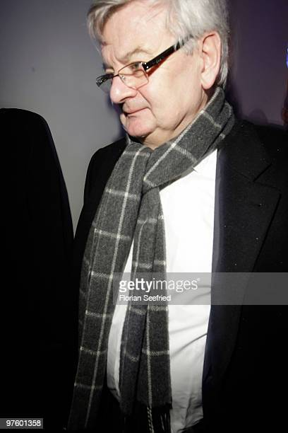 Joschka Fischer poses for a picture on February 01 2010 in Berlin Germany
