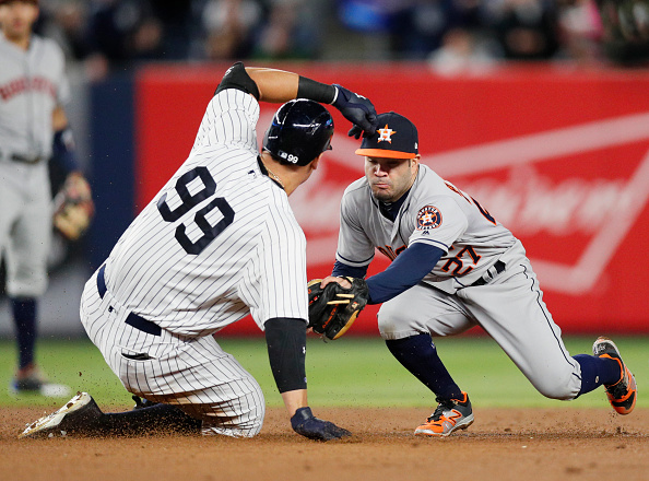 Houston Astros vs New York Yankees : News Photo