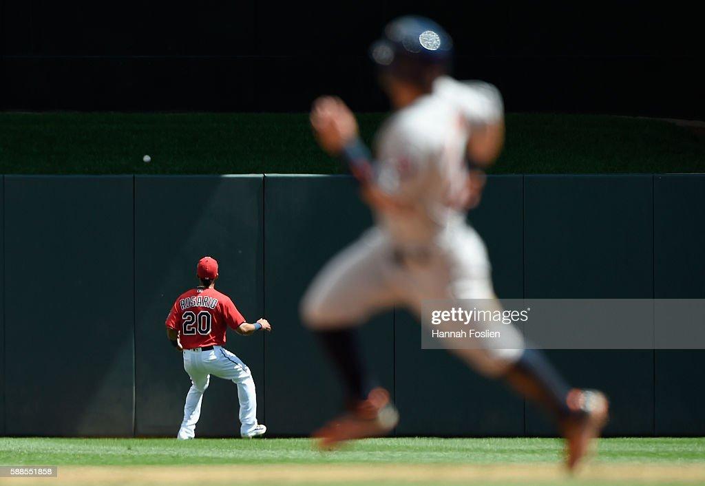 Houston Astros v Minnesota Twins - Game One
