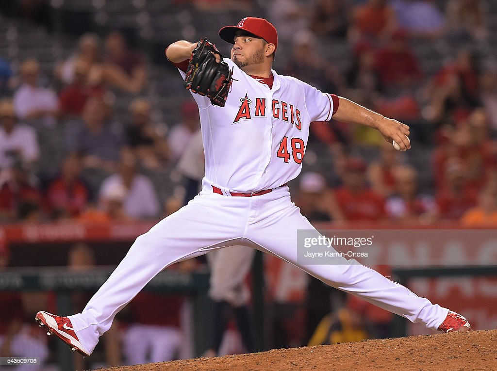 Houston astros v los angeles angels of anaheim getty images - Jose alvarez ...