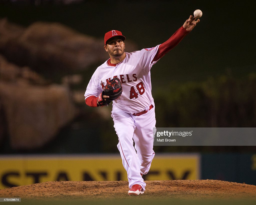 Kansas city royals v los angeles angels of anaheim getty images - Jose alvarez ...