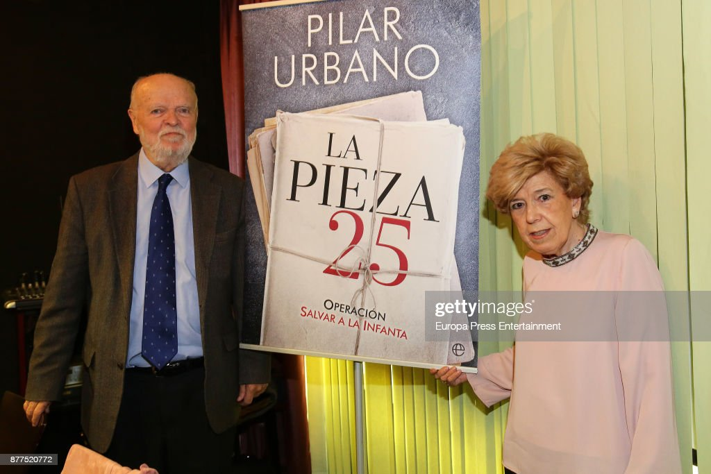 Pilar Urbano Book Launching 'Pieza 25' In Madrid