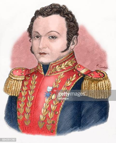 Jose Antonio Paez Venezuelan militar and politician President of Venezuela on three times