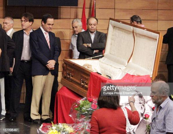 Jose Bono attends the funeral for former Communist Party leader Santiago Carrillo September 19 2012 in Madrid Spain Carrillo who died at the age of...