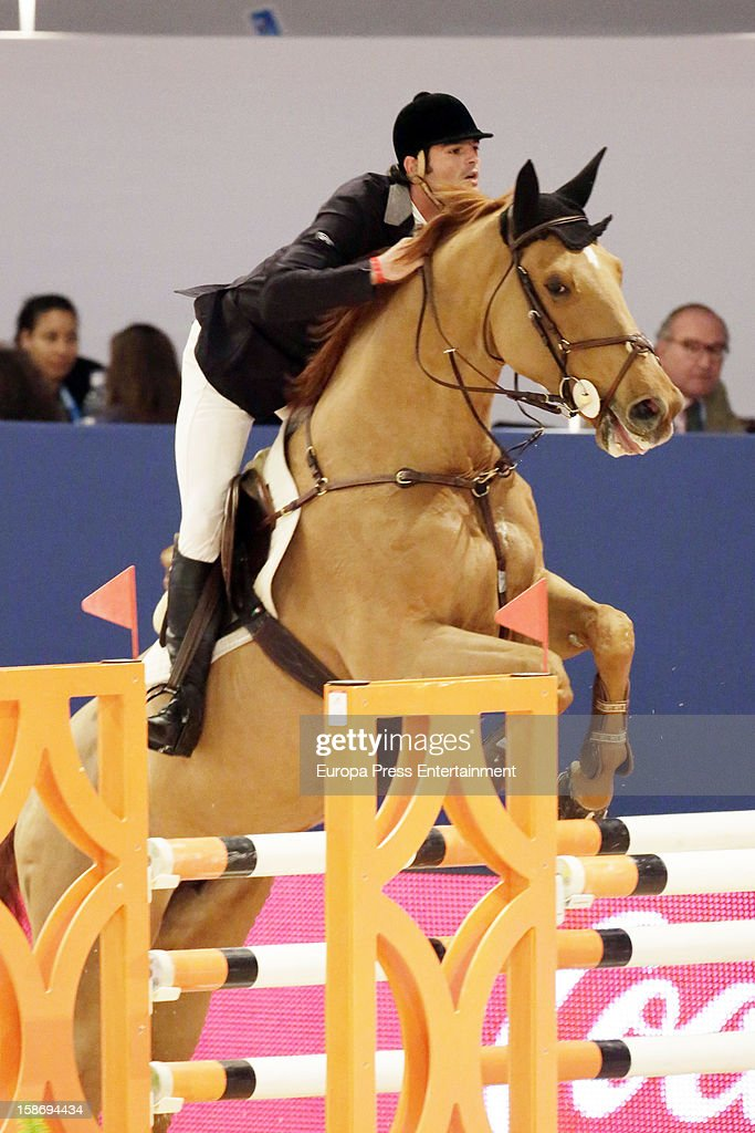 Jose Bono jr attends Madrid Horse Week Fair 2012 at Ifema on December 23, 2012 in Madrid, Spain.