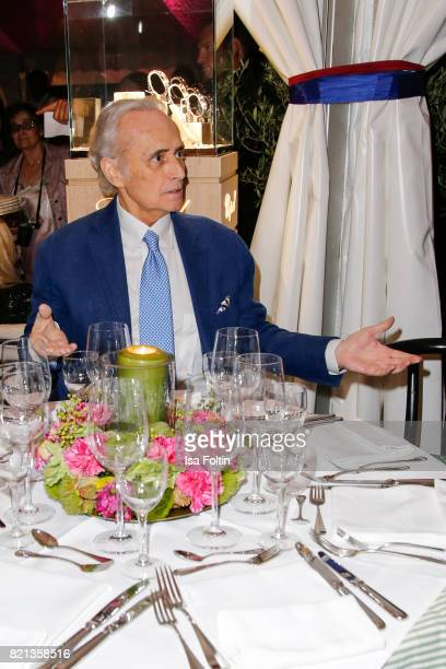 Jose Carreras after his concert at Thurn Taxis Castle Festival 2017 on July 23 2017 in Regensburg Germany