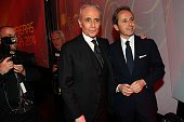 Jose Carreras and his son Albert Carreras during the 20th Annual Jose Carreras Gala on December 18 2014 in Rust Germany