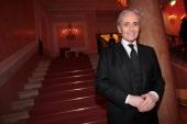 Jose Carreras attends the exclusive Ballo della Cavalchina at Fenice Theatre on February 18 2012 in Venice Italy
