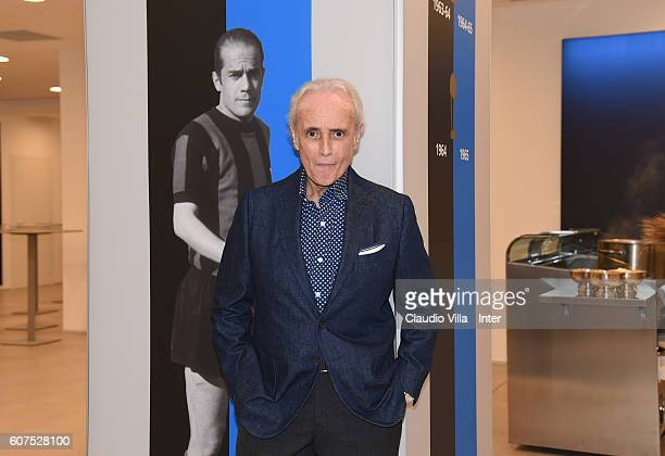 Jose Carreras attends the Serie A match between FC Internazionale and Juventus FC at Stadio Giuseppe Meazza on September 18 2016 in Milan Italy