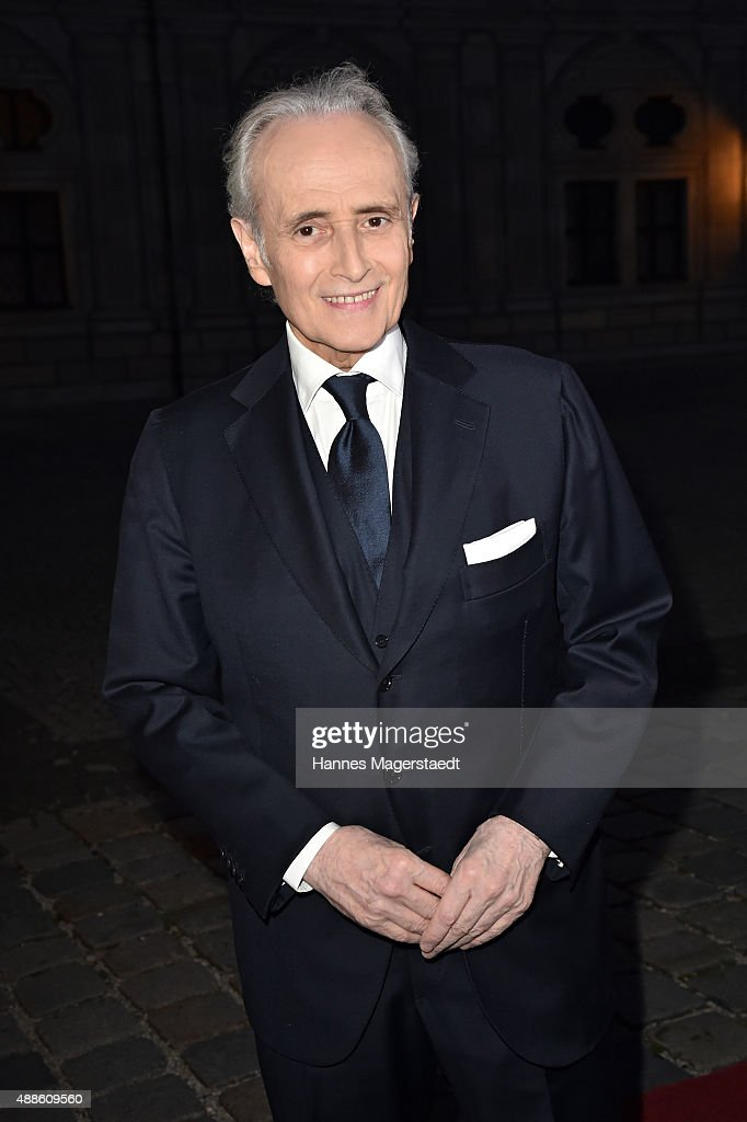 Jose Carreras during the 'Jose Carreras Foundation Celebrates Its 20th Anniversary' at Kaisersaal on September 16, 2015 in Munich, Germany.