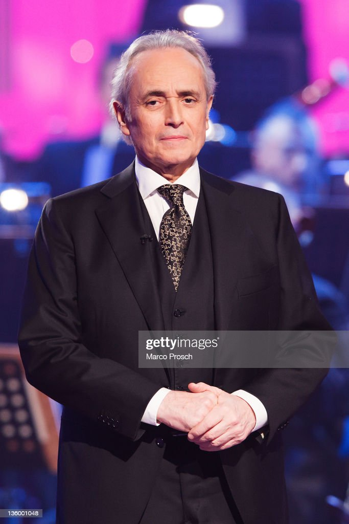 Jose Carreras hosts the Jose Carreras Gala at the Neue Messe on December 15, 2011 in Leipzig, Germany. The annual TV Show is a fundraising campaign for the fight against leukaemia.