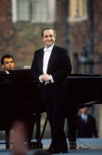 Jose Carreras performs on stage London 1993