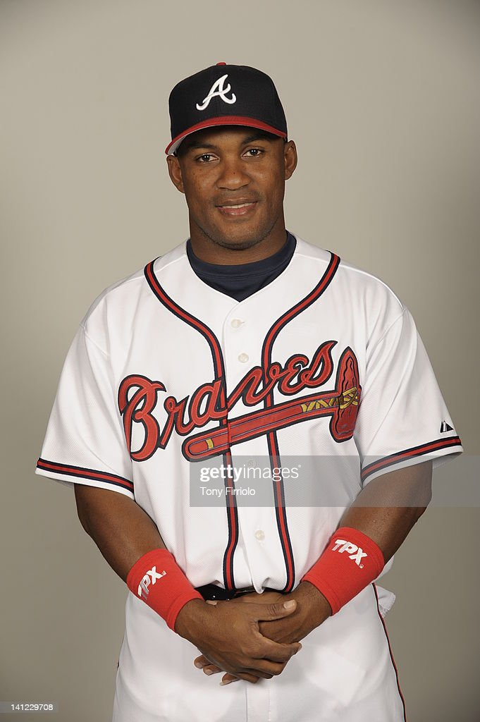 <a gi-track='captionPersonalityLinkClicked' href=/galleries/search?phrase=Jose+Constanza&family=editorial&specificpeople=7471312 ng-click='$event.stopPropagation()'>Jose Constanza</a> (78) of the Atlanta Braves poses during Photo Day on Wednesday, February 29, 2012 at Champion Stadium in Lake Buena Vista, Florida.