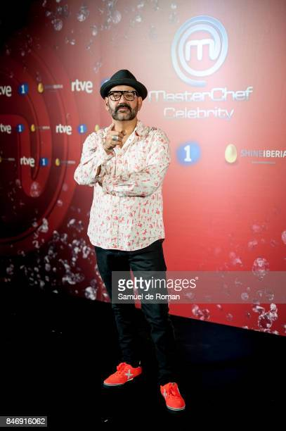 Jose Corbacho during 'MasterChef Celebrity' 2 presentation on September 14 2017 in Madrid Spain