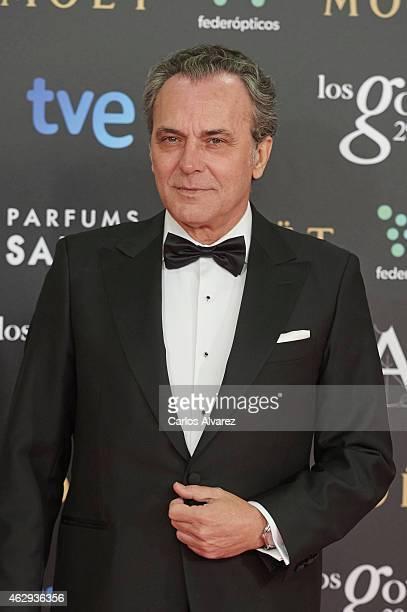 Jose Coronado attends Goya Cinema Awards 2014 at Centro de Congresos Principe Felipe on February 7 2015 in Madrid Spain