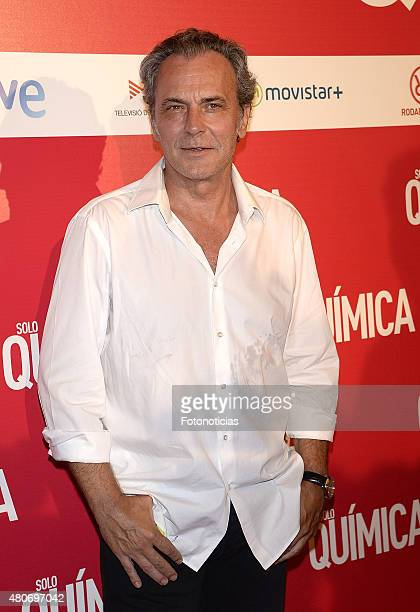 Jose Coronado attends the 'Solo Quimica' Premiere at Palafox Cinema on July 14 2015 in Madrid Spain